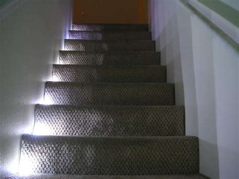 sensor lights for stairs stair lighting 187 indoor and outdoor led stair lighting