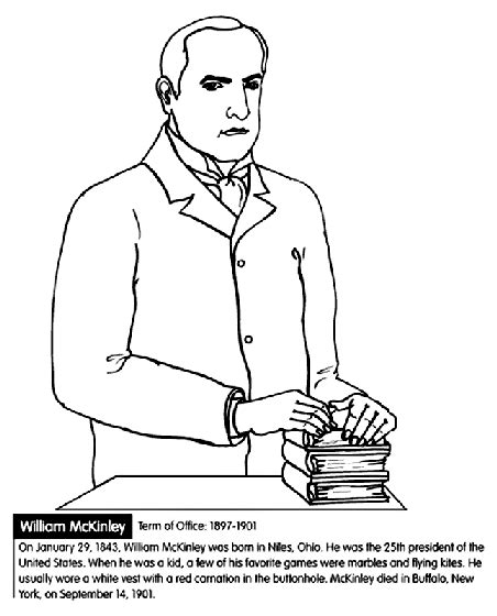 george washington coloring page crayola com u s president william mckinley coloring page crayola com