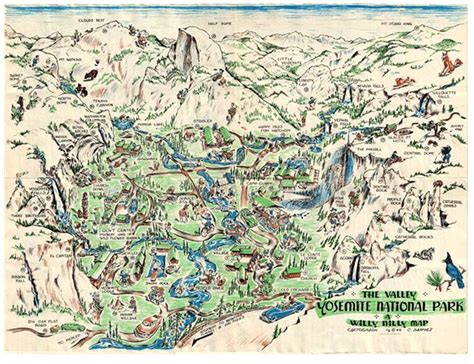 printable map yosemite national park yosemite online library what s new