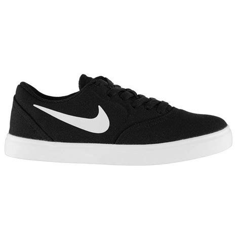 sports direct canvas shoes nike nike check canvas junior boys skateboarding shoes