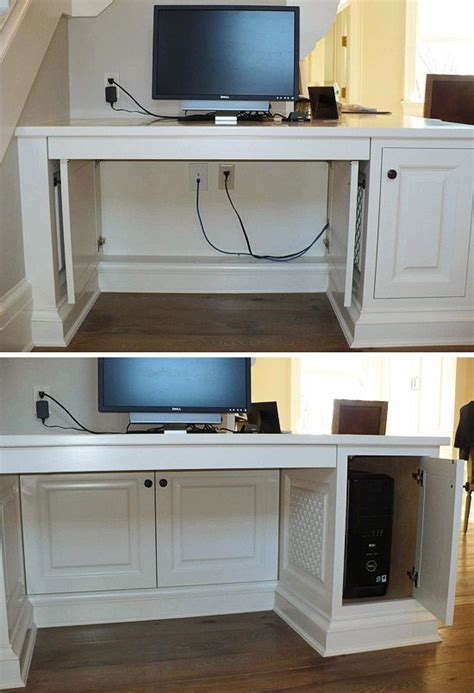 hide cords on desk conceal computer cables make unsightly computer cables a
