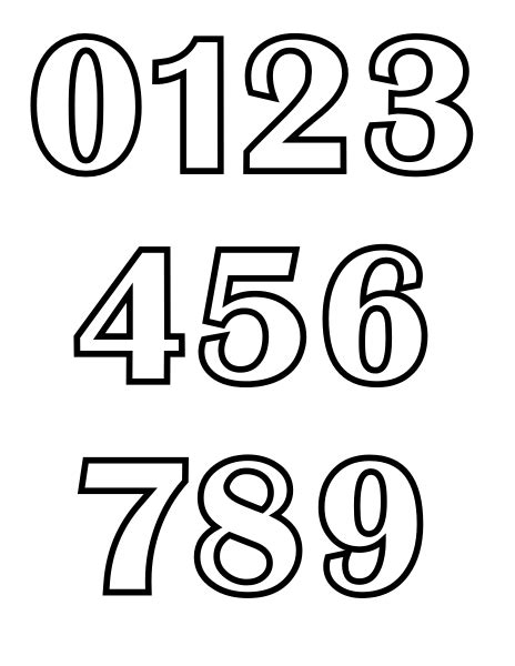Number Drawing 0 To 9 by Original File Svg File Nominally 816 215 1 056 Pixels