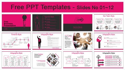 success powerpoint templates free success businessman powerpoint templates for free