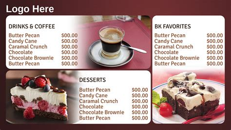 dessert menu template budget assistant cover letter