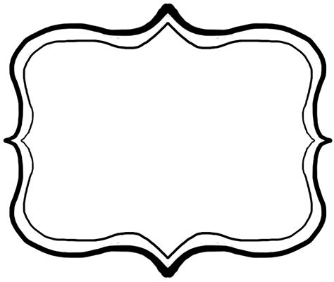 free doodle clip free clip frame cliparts co