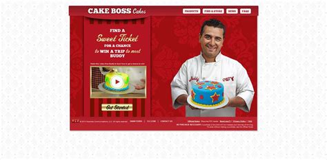Cake Boss Sweepstakes - cakebosscakes com cake boss sweet ticket promotion