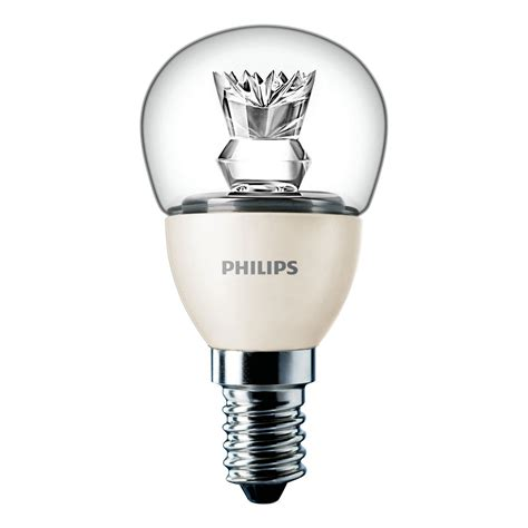 Lu Led Philips 14 Watt philips le led ma 206 tre lustre led 4w e14 827 blanc