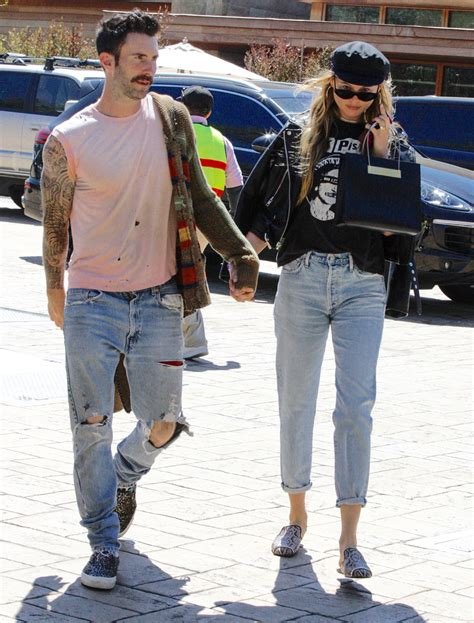 adam style adam levine shows off new dad style goes back to blonde
