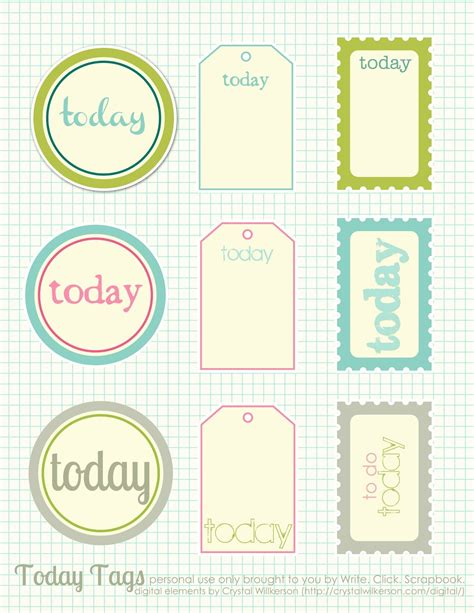 free printables fancy photo booth scrapbooking printables