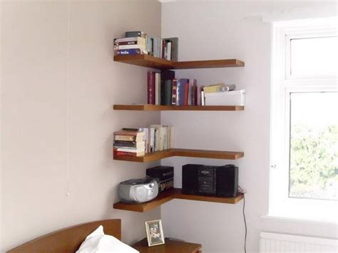 floating corner shelves diy floating wall shelves