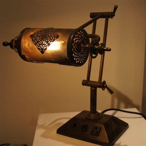 steampunk desk lamp jomoco studio