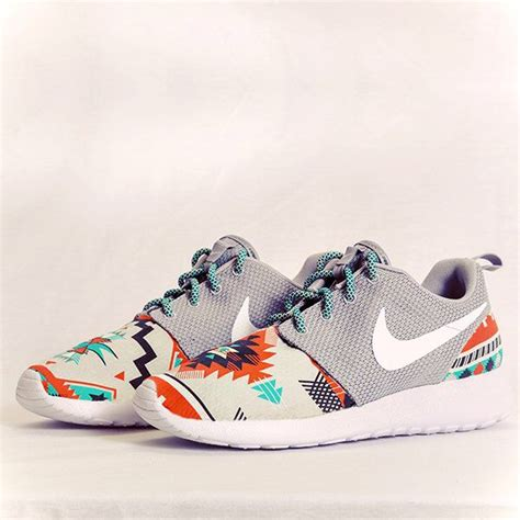 stores that carry running shoes nike roshe run grey aztec custom womens by dropkiks
