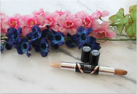 Maybelline V Duo Blush On maybelline v duo contour stick in review and