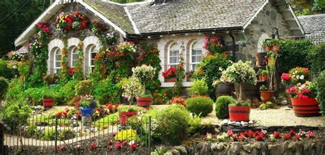Cottage Of Flowers by Cottage With Gorgeous Flowers Everywhere S