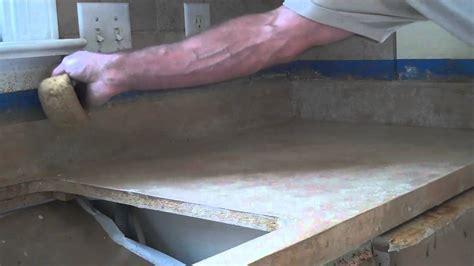 Granicrete Kitchen Countertop   YouTube