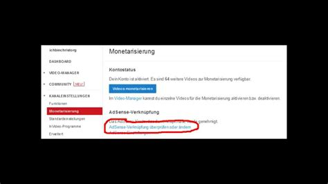 tutorial youtube adsense tutorial wie kann man mit youtube geld verdienen