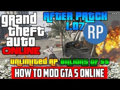 mod gta 5 tutorial gta 5 online mod billions and unlimited rp tutorial gta