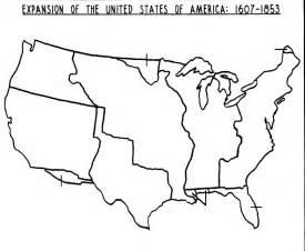 a blank us map blank westward expansion map westward expansion