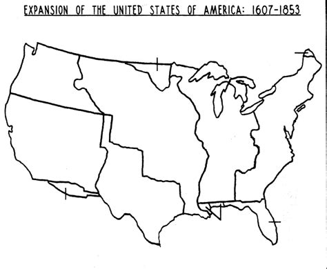 us westward expansion blank map social studies on westward expansion american