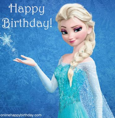 Frozen Birthday Cards Frozen Happy Birthday Below Courtesy Of Happy