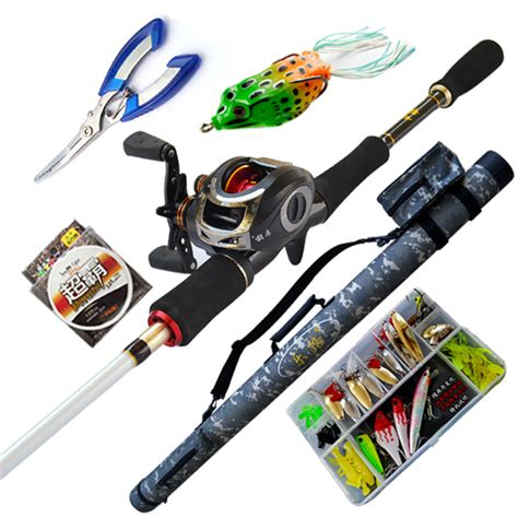 swing set troline combo ems free shipping 2 1m m ml carbon casting fishing rod set