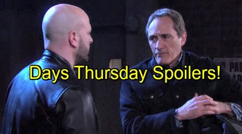 days of our lives spoilers clyde breaks out of prison with xander and days of our lives spoilers furious clyde arrested