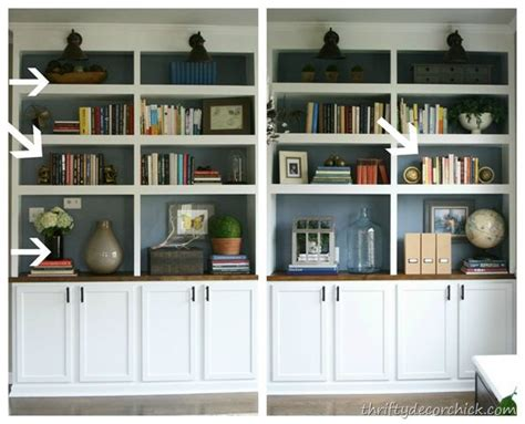 how to decorate built in shelves 41 best images about bookshelf decor on pinterest