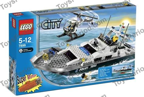 lego boat police 7899 lego 7899 police boat set parts inventory and instructions