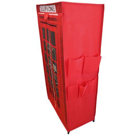 armadio stoffa neu holz 174 armadio 156x87x46cm stoffa armadio pieghevole