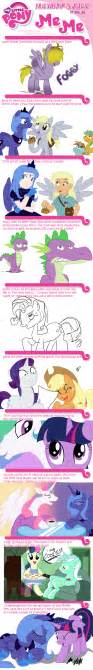 My Little Pony Meme - my little pony memes are magic by scruffytoto on deviantart