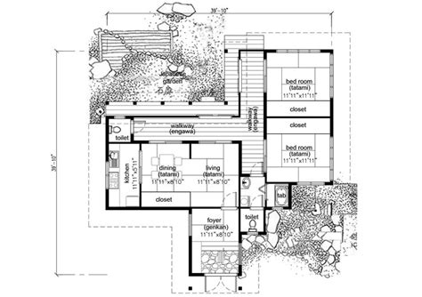 japanese house floor plan best 25 traditional japanese house ideas on pinterest