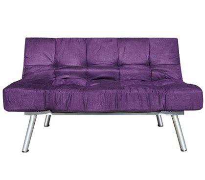 the college cozy sofa mini futon purple dorm furniture