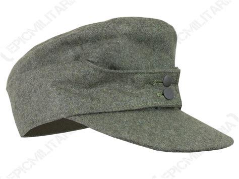 Winter Hat Wh 44 german army m43 heer ski cap field grey wool all sizes