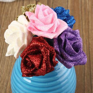 Handmade Foam Flowers - 6 colors artificial diy nosegay handmade foam flowers