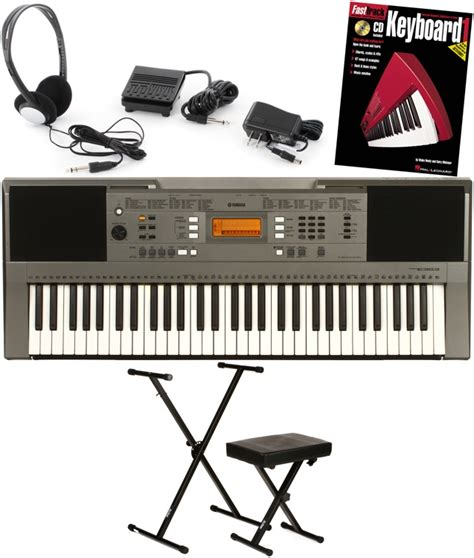 Keyboard Yamaha E353 yamaha psr e353 essential keyboard bundle sweetwater