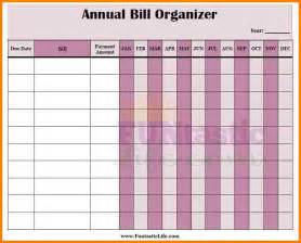Monthly Bill Organizer Template Free by 10 Free Printable Bill Organizer Monthly Bills Template