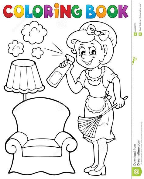 libro 2 me cas con 218 nico dibujos de amas de casa para colorear