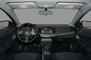 2010 Mitsubishi Lancer Interior 2010 Mitsubishi Lancer Price Photos Reviews Features