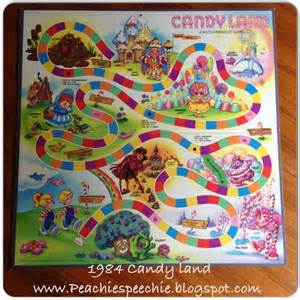 Candyland game pieces template by the time my first child was