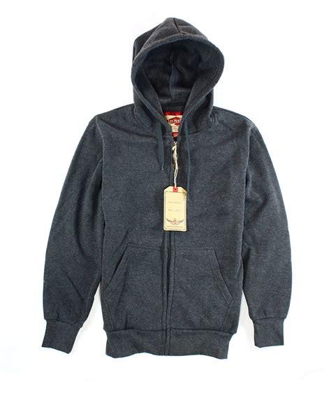 hanton new mens premium zip up warm hoodie sweater