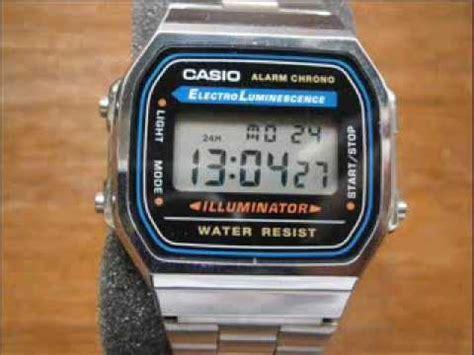 Casio A 168 casio a 168 wa 1 yes 7 orologio da uomo vintage