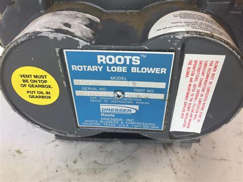 Dresser Roots by Dresser Roots 7104802l Rotary Lobe Blower 32 U S 22 F