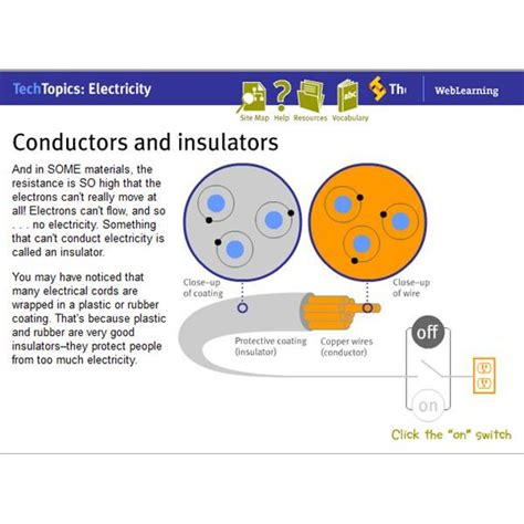 electricity conductors year 5 four websites about electricity for practice and
