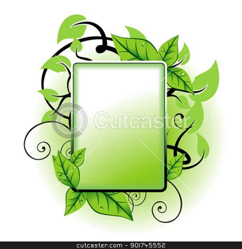 picture clips leaf frame clipart
