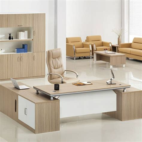 Modern Office Sofa Designs Professional Manufacturer Desktop Wooden Office Table Design Modern Executive Office Table
