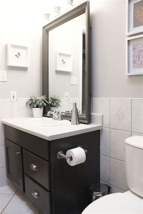 small bathroom updates on a budget updating a bathroom on a small budget nikki s plate