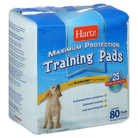 hartz puppy pads hartz mountain corp home protection pads 80 pads
