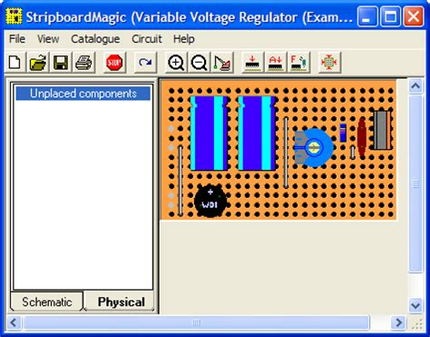 Veroboard Layout Software | veroboard stripboard software