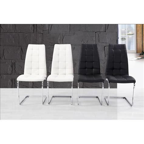 Contemporary Dining Chairs Uk Contemporary White Barcelona Dining Chair 163 84 95 Groovy Home Funky Contemporary