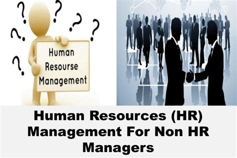 Stanford Mba Human Resources by Human Resources Hr Management For Non Hr Managers